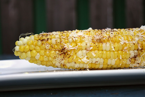 4th of July Treats: Roquefurt Burger with Onion Jam, Mexican-Style Corn on the Cob 3