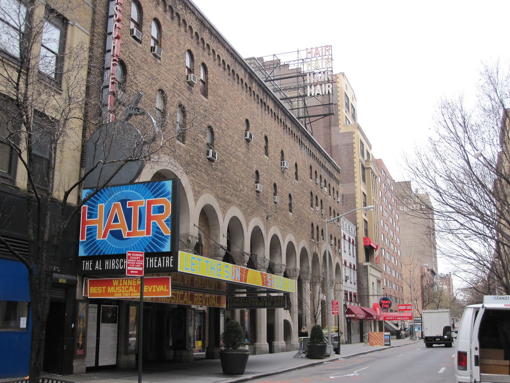 HAIR the Musical on Broadway