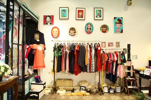 la antigua tienda