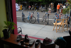 Bikes seen at Alberta Art Hop-9