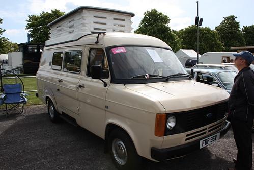 Ford Transit Campervan. 1980 Ford Transit Camper Van