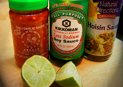 Ingredients for Great Spring Roll Sauce