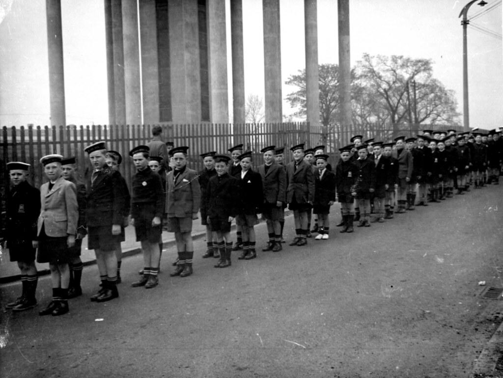 Life Boys, Sunday Parade, Cranhill, Glasgow.