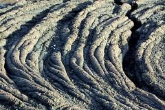 Ropy Lava (Pahoehoe) Flow