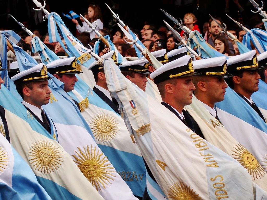 Festejos Bicentenario Revolucion de Mayo Bs. As. Argentina
