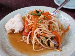 Cours de cuisine -> Salade de papaille