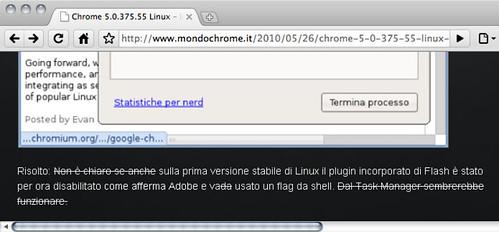 MondoChrome.it - testo aggiornato da Flickr