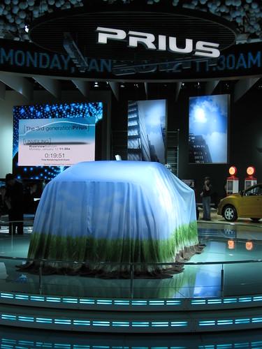 Toyota Prius under wraps
