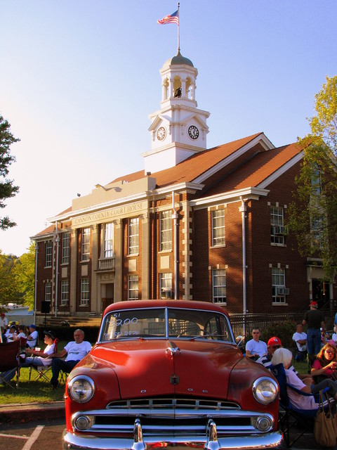 Cannon Courthouse & Car Show 1