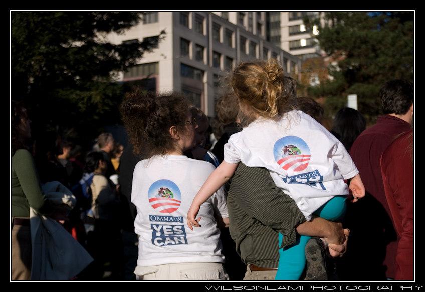 Yerba Buena Gardens Obama Inauguration '09 - 2