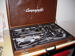Campagnolo Large Tool Kit (scottpinarello) Tags: frame kit tool toolkit builder campagnolo