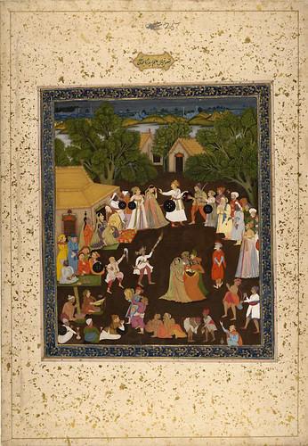010- Pintura india siglos XVIII- XIX
