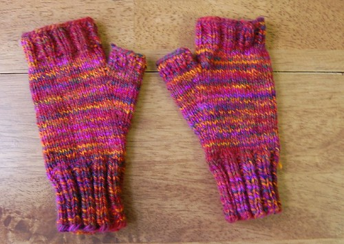 FO: Handspunnish mitts
