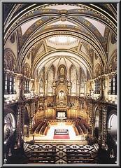 """Santuario de Montserrat """"Monasterio Santa María de Montserrat""""Barcelona,Cataluña,España"""