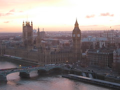 Westminster seen from the London Eye