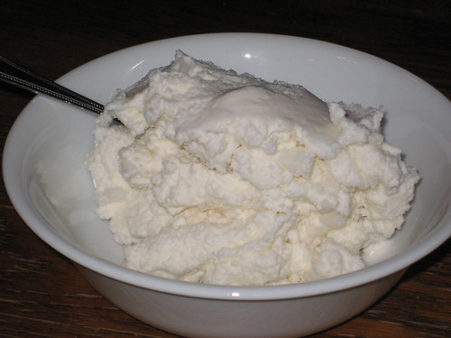vanilla snow ice cream
