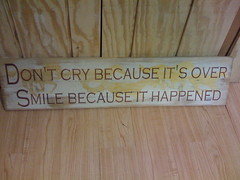 Don't Cry Because It's Over: Smile Because It Happened by Wesley Fryer