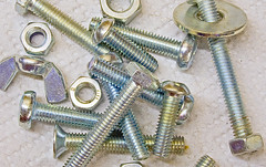 Machine Screws (tudedude) Tags: macro thread screw model steel machine engineering tools workshop bolt precision nut fitting wingnut gbr fastener threaded nutbolt hexhead allenkey caphead machinescrew countersunk posidrive tudedude