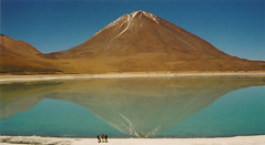 Laguna Verde - Bolivia (Arnaud Carlos Andrs Vittet) Tags: life voyage park travel viaje wild brazil mountain snow paris france cold colour reflection verde london art ice nature beautiful beauty japan america monta
