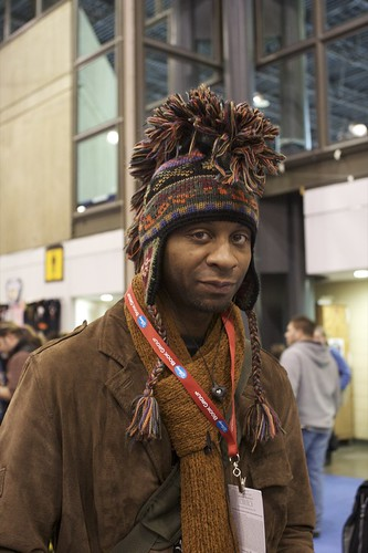 amazing intarsia mohawk hat