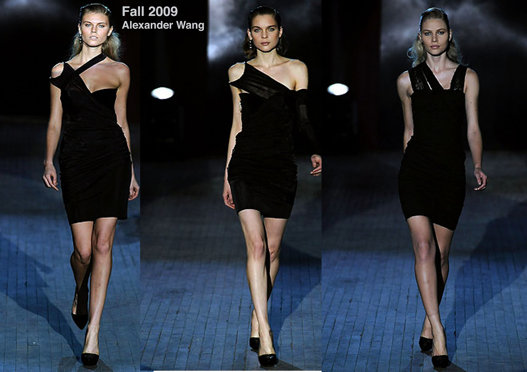 Alexander Wang-black dresses