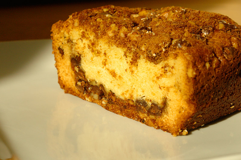 coffee cake: the finished product