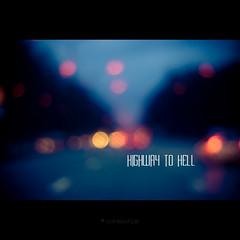 Highway To Hell (Sachie Nagasawa - somewhair) Tags: road 15fav car acdc night square 50mm nikon highway bokeh sachie highwaytohell aphotoaday nagasawa d80 365project somewhair hantenshi lifypoem