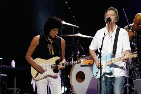 Eric Clapton Jeff Beck Saitama Japan 21 February 2009