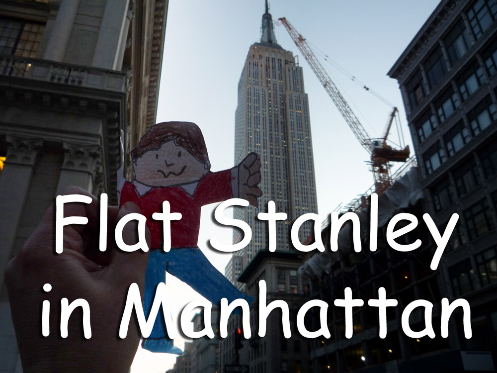 Flat Stanley in Manhattan