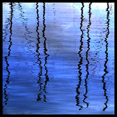 Just some reflections (forf) Tags: reflection blue water sea color forf onblue musicsbest elitephotography sensationalphoto magical goldenart amazingamateur