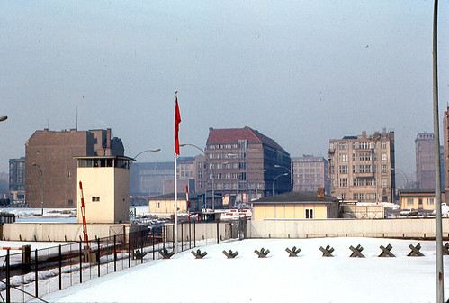 Berlin - Wall and Guard Tower