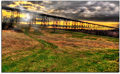 New Jersey Transit Commuter Railroad Port Jervis Line (kw~ny) Tags: new railroad metro north transit jersey salisbury mills hdr njt moodnaviaduct