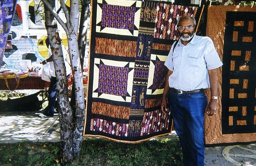 Abayomi Azikiwe, editor of the Pan-African News Wire, at the Detroit Bead Museum on the west side during September 2008. (Photo: Omorose) by Pan-African News Wire File Photos