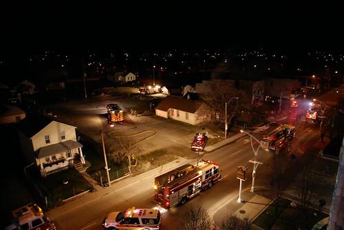 Glengarry Ave. Fire, next to Caesars