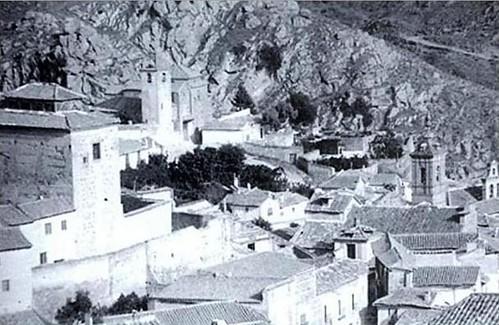 Iglesia de San Lucas (Toledo) a principios del siglo XX.