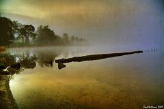 Misty Dawn (Shuggie!!) Tags: mist texture water landscape scotland williams karl loch trossachs hdr ard aberfoyle theunforgettablepictures karlwilliams newgoldenseal