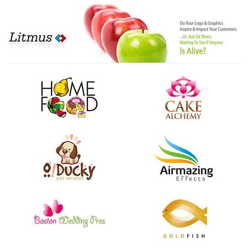 Logo Design : Litmus Branding & Design Studio by litmusonline.com.