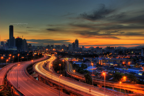 Kuala Lumpur # The Sun has Gone