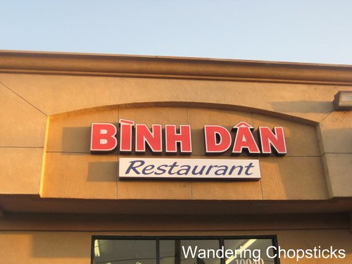 Binh Dan Restaurant (De 7 Mon (Vietnamese Goat in 7 Courses)) - Westminster (Little Saigon) 2