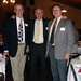 John and David Woodward with Joe Weber, Director of the Library
