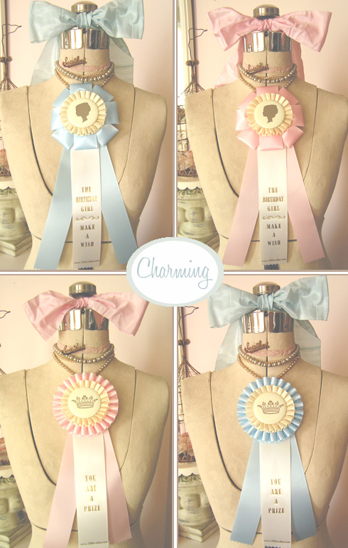 Prize Ribbons - Your Thoughts As Decor?