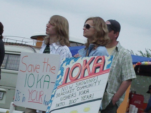 Laurie and Brycen, Save the Ioka Theater (by mrjohnherman)