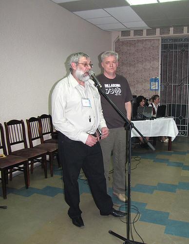 Сидор и Лартис на ИПК-2009