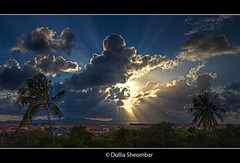 Sun breaks through the clouds 2 (DolliaSH) Tags: travel light vacation sky sun sunlight holiday tourism clouds photoshop canon eos topf50 tour place searchthebest dominicanrepublic visit location tourist explore journey destination caribbean 500views traveling sunrays visiting sonne topf100 zon hdr touring puntacana republicadominicana wimpy caribe bavaro cs4 photomatix 50d tonemapping 50faves dominicaanserepubliek explorefrontpage bej eos50d justclouds fbdg dollia dollias sheombar wolkenwolkcloudswolkeskyernuagesnuagenubinuvensoblakanubesnubemolnkumo