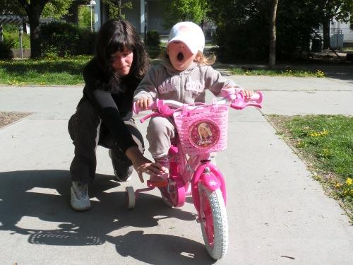 kein Bock zum Rad fahren