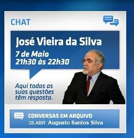 Chat com José Vieira da Silva