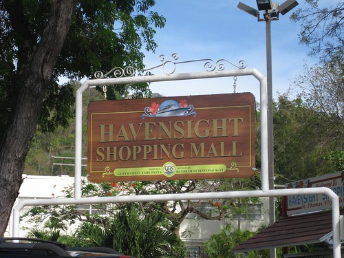 Havensight Mall in St. Thomas