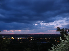 Summer Evening Horizon (Beauty! Eh?) Tags: sunset sky hamilton escarpment