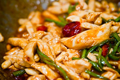 Sichuan Kung Po chicken (by Christ tell)