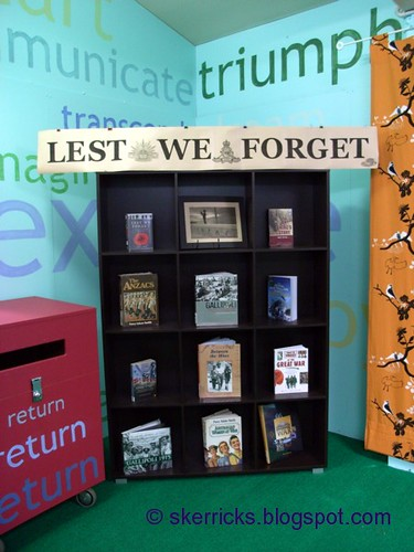 bookcase anzac day